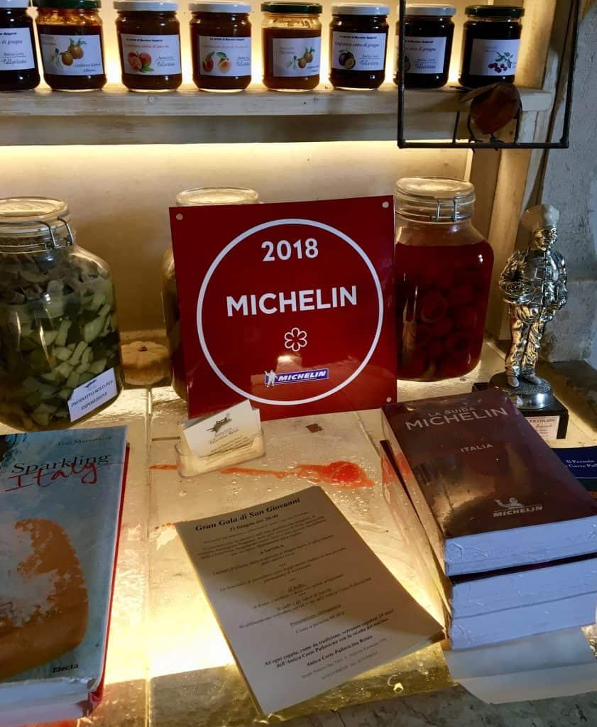 Michelin Antica Corte Pallavicina