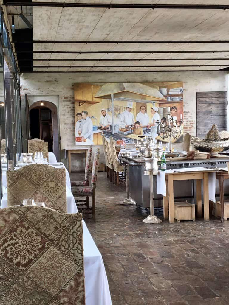 Antica Corte Pallavicina restaurant
