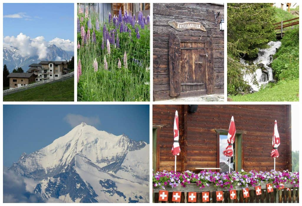 Bettmeralp collage