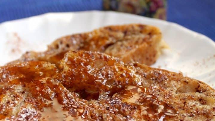 Cinnamon French Toast with Orange Sauce