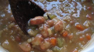 Barley Bean Soup...hearty fare for colder days