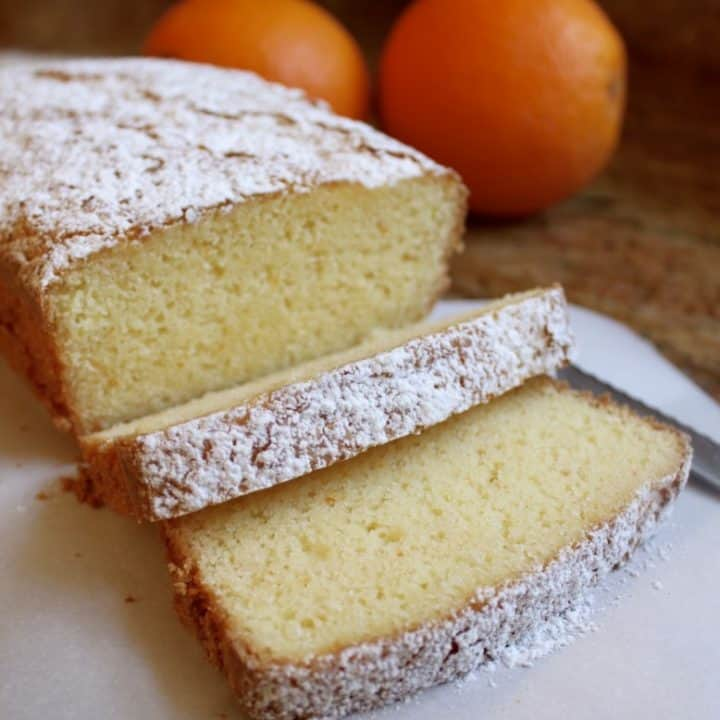 The Best Gluten-Free Lemon (or Orange) Pound Cake Ever