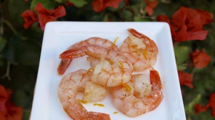 The Italian Diabetes Cookbook and a Recipe for Lemon-Scented Shrimp (Gamberi al Limone)