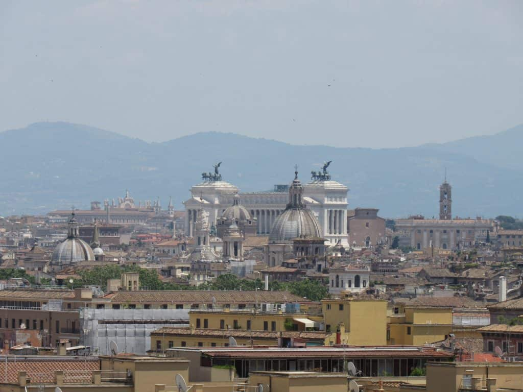 View from the Vatican museums
