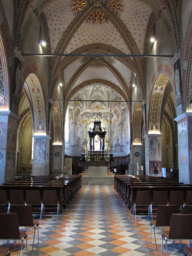 Cathedral in Lugano