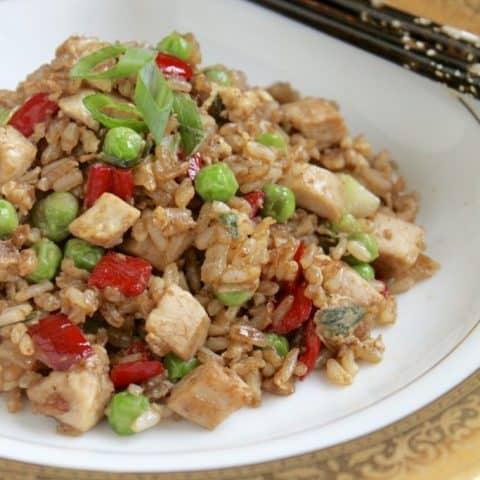 Fleming's Turkey Fried Rice