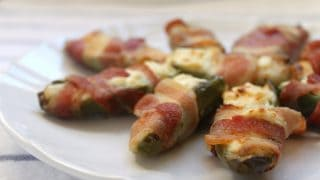 Jalapeno, Cream Cheese & Bacon Appetizers...they're magical!