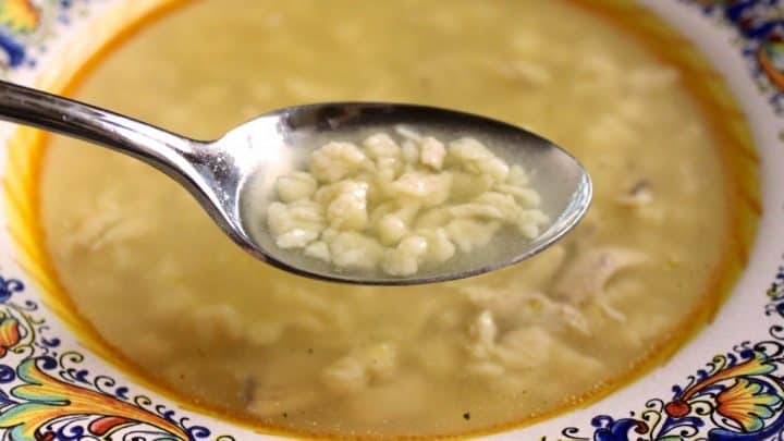 Ada's Grattini all'Uovo (Grated Egg Pasta for Soup) and a List of My Relatives' Recipes