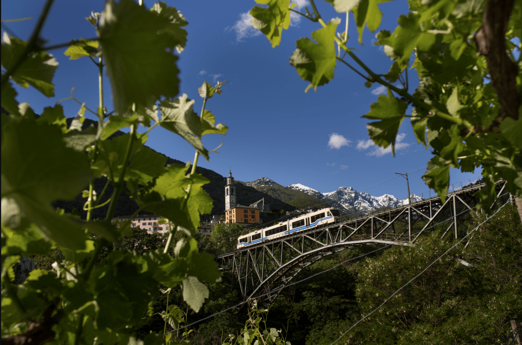 Centovalli railway, courtesy Switzerland Tourism