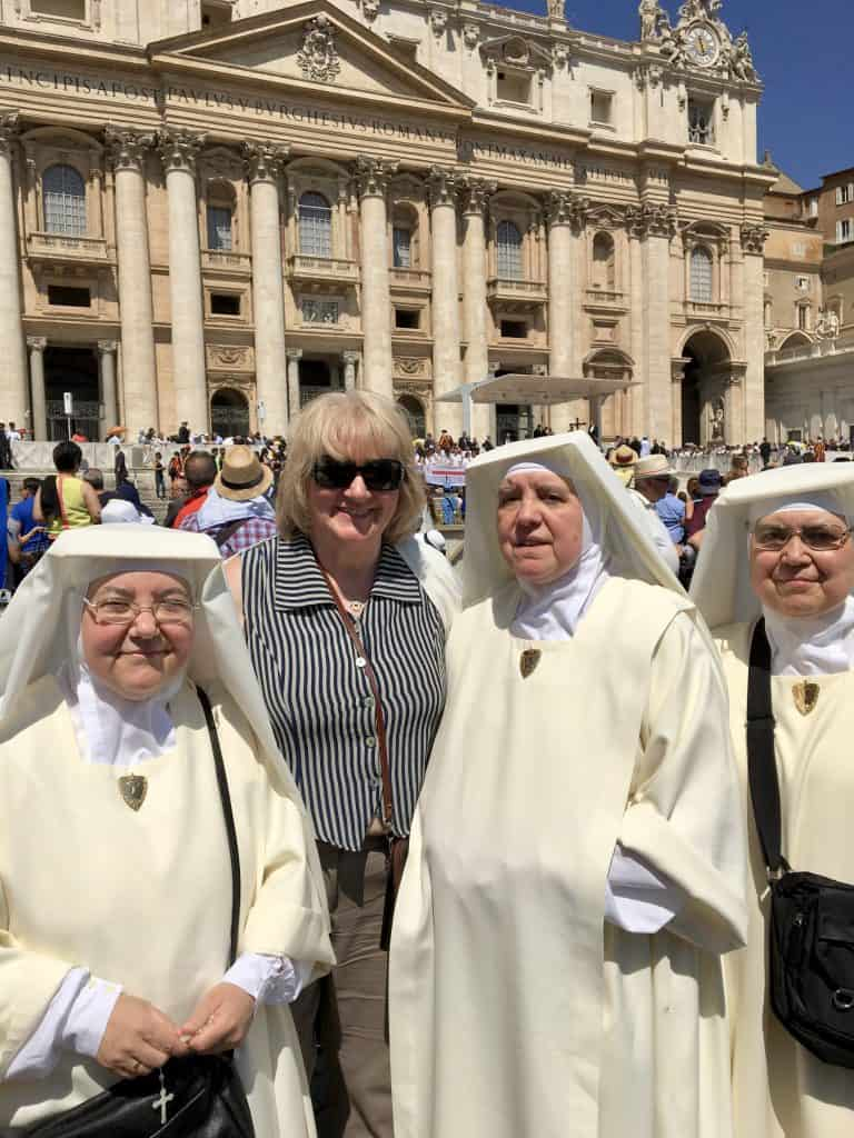 My Mum and nuns!