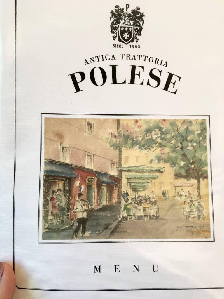 Antica Trattoria Polese