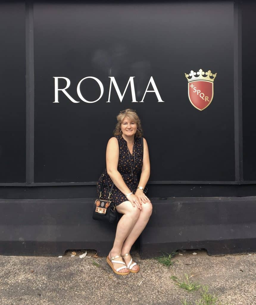 Christina from Christina's Cucina in Rome