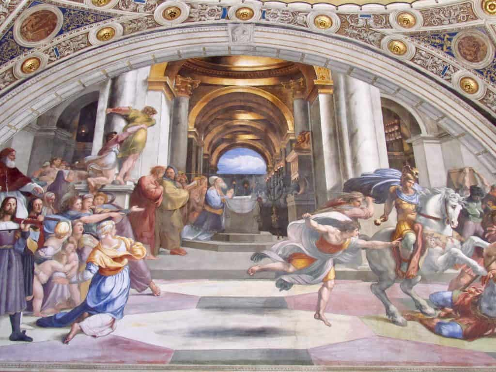 Raffaele-paintings