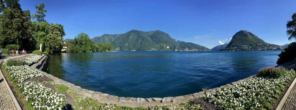 Panorama Lake Lugano