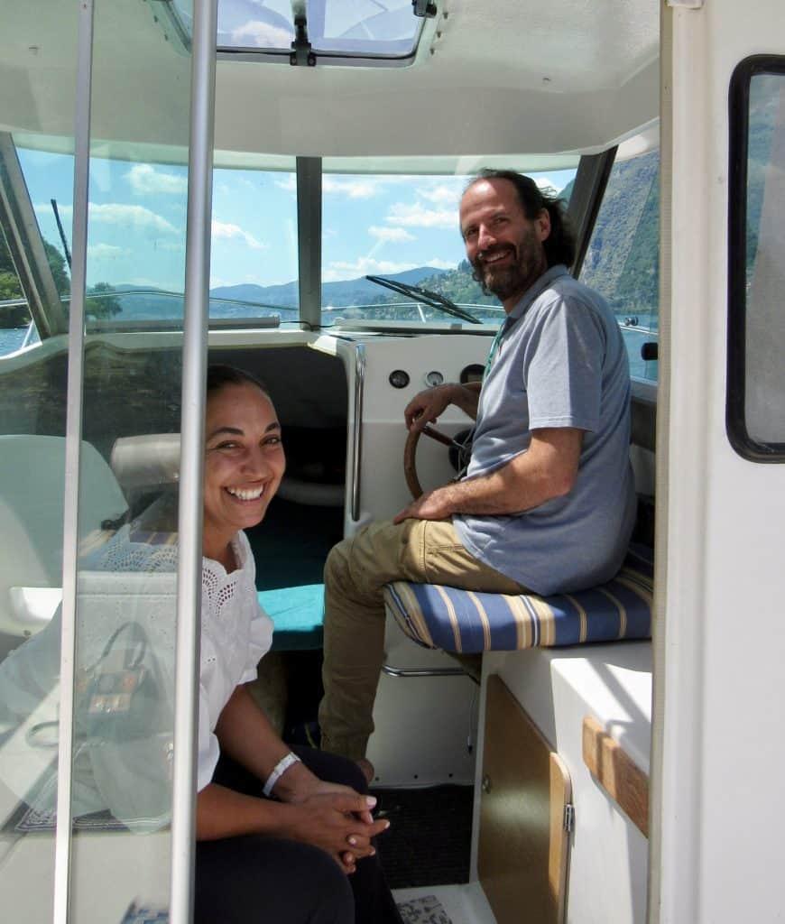 Cruise and Cook in lake lugano