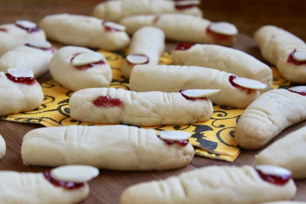 Trolls' Toes and Witches' Fingers cookies