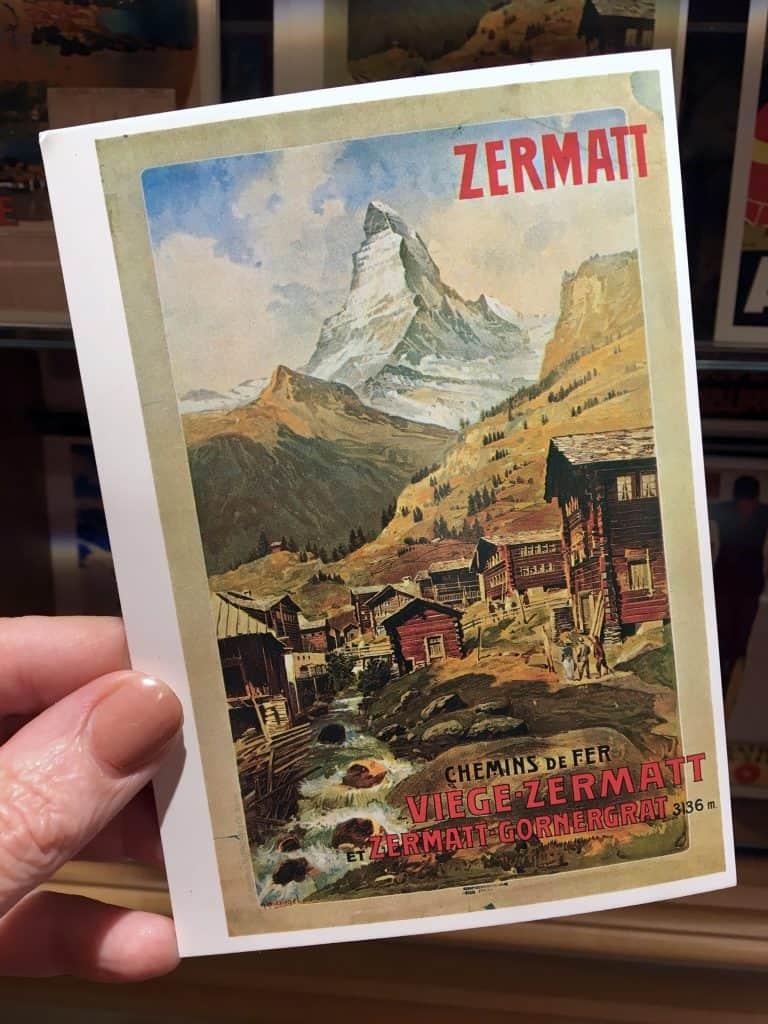 Zermatt postcard
