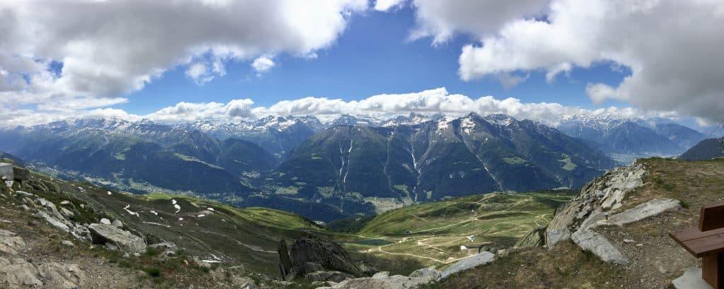 Panoramic view Bettmeralp