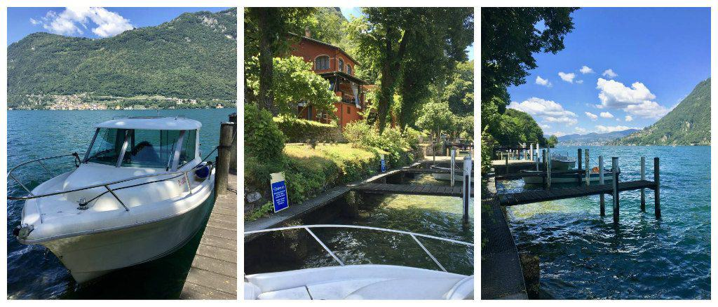 Grotto Descanso dock for cruise and cook