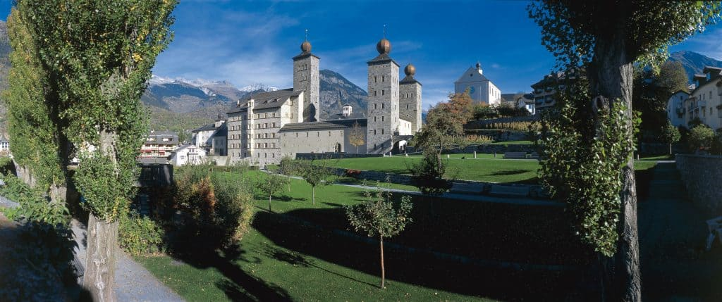 Stockalper Palace courtesy of Switzerland Tourism