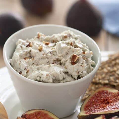 Blue Cheese and Roasted Pecan Dip