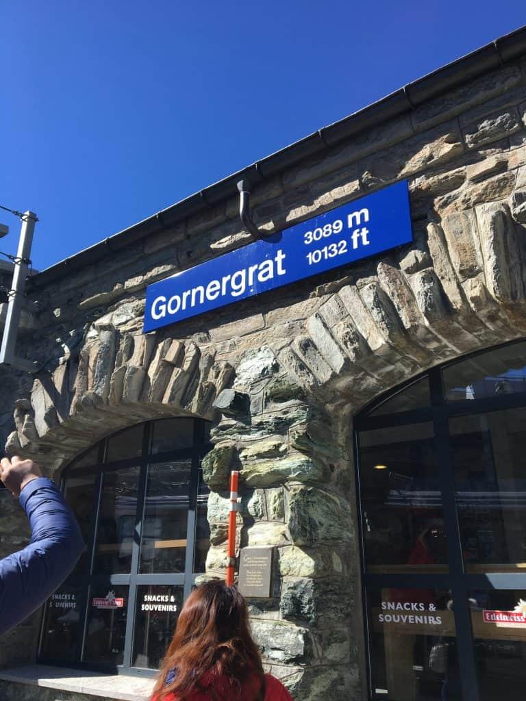 Gornergrat station