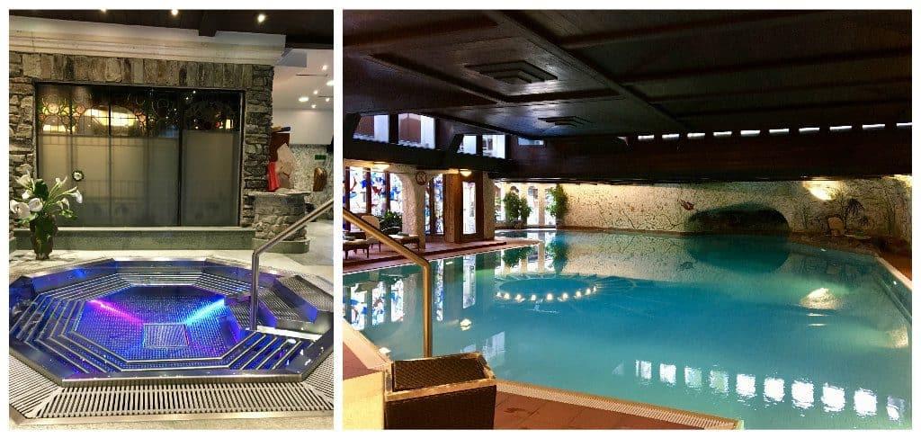 Pool at the Hotel Alex Zermatt