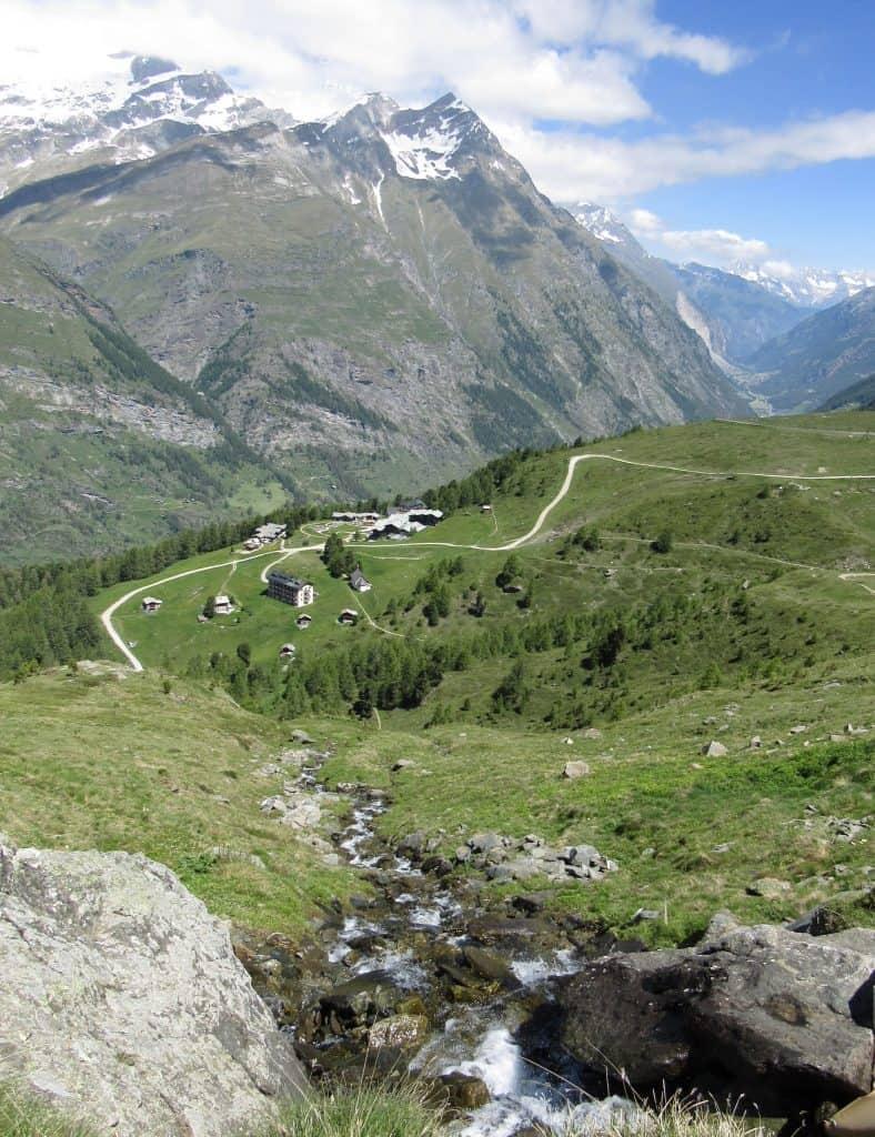Hiking Zermatt