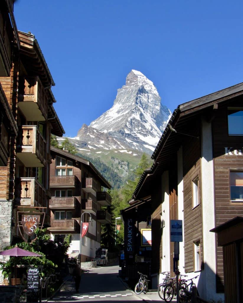 Zermatt, Switzerland: a view (by Christina Conte)