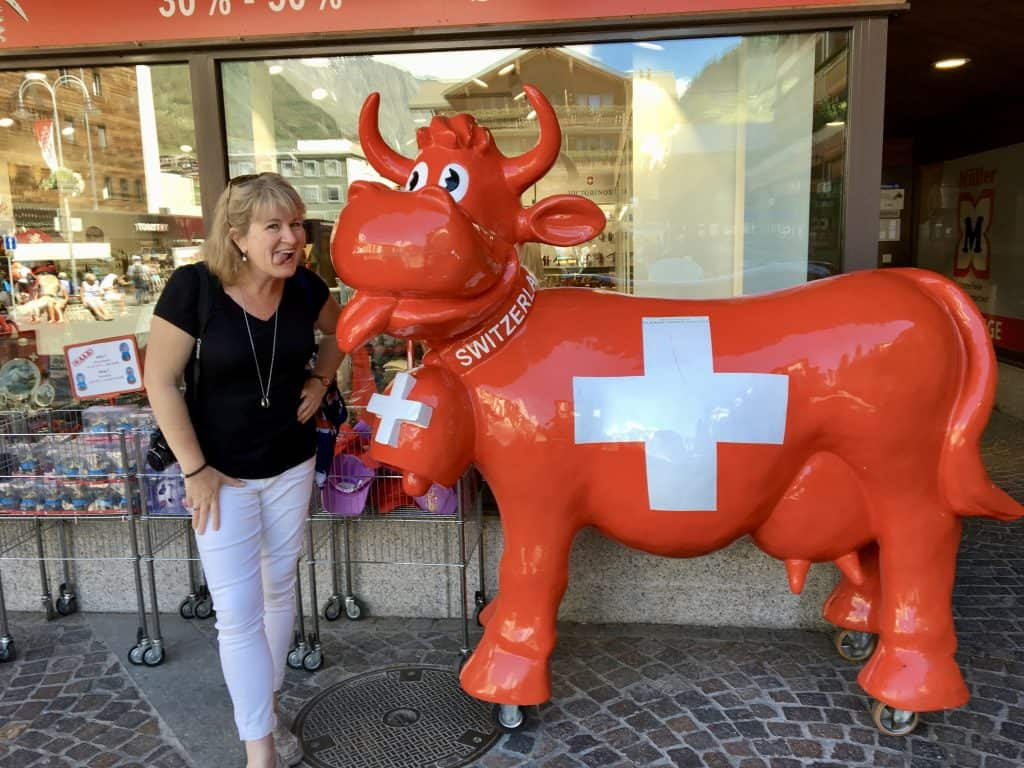 Swiss cow and Christina's Cucina