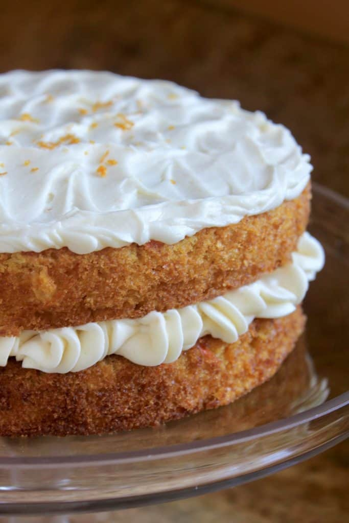 Best orange cream cheese frosting