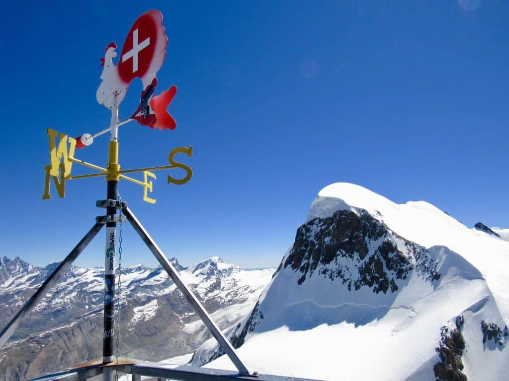 Glacier Paradise view