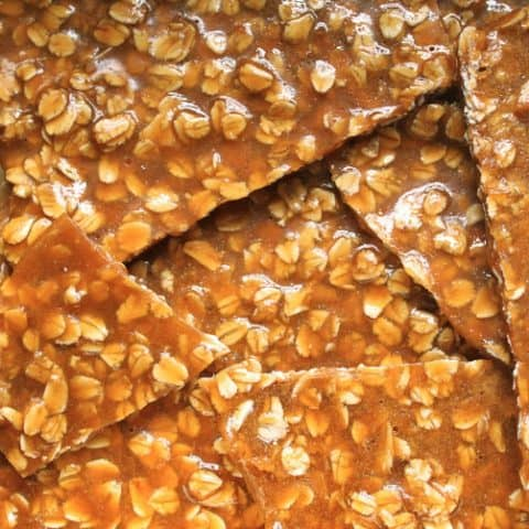 Oat Brittle: Great as a Gift, or in Sticky Toffee Porridge and Other Desserts