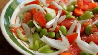 Denisa's Edamame Veggie Salad