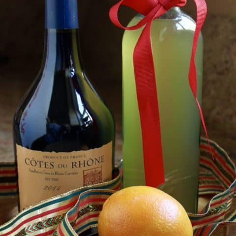Mulled Wine Syrup, Perfect for Gift Giving and Mulled Cider, too!