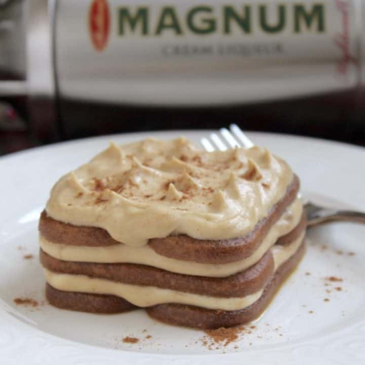 A Speculoos Cookie and Magnum Cream Liqueur Dessert That's Just a Wee Bit Dangerous