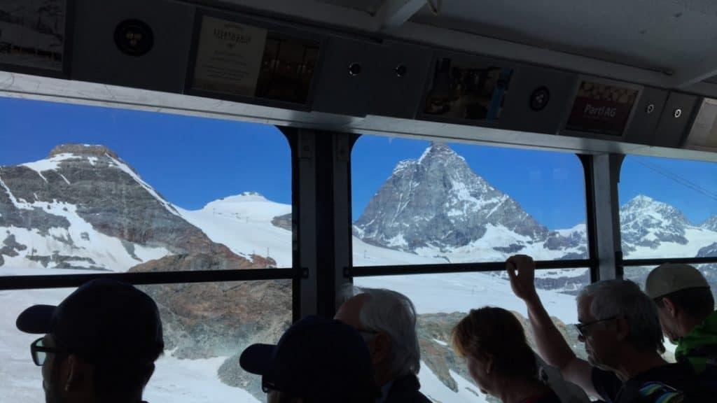 Cable car Glacier Paradise