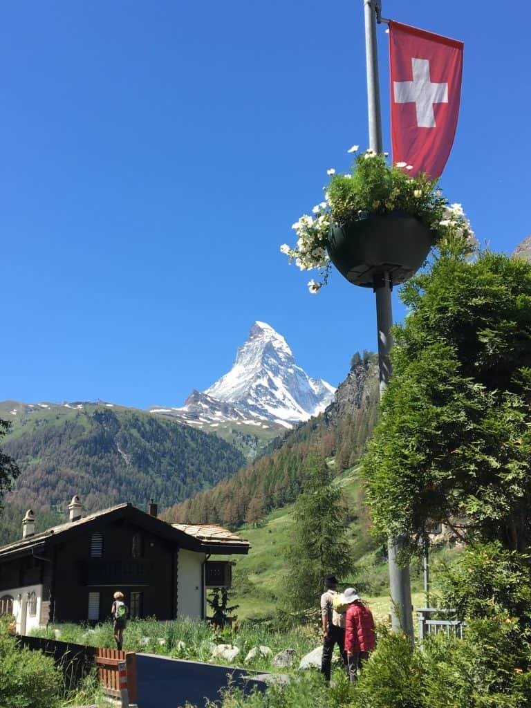 Zermatt view Matterhorn