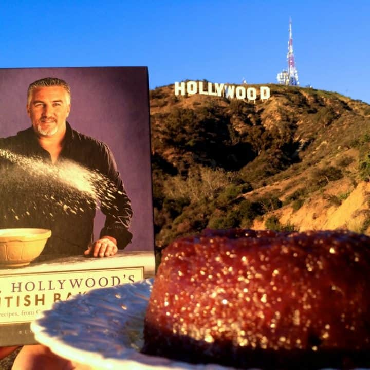 Paul Hollywood's Treacle Sponge Pudding and The Great British Bake Off Comes to the US!