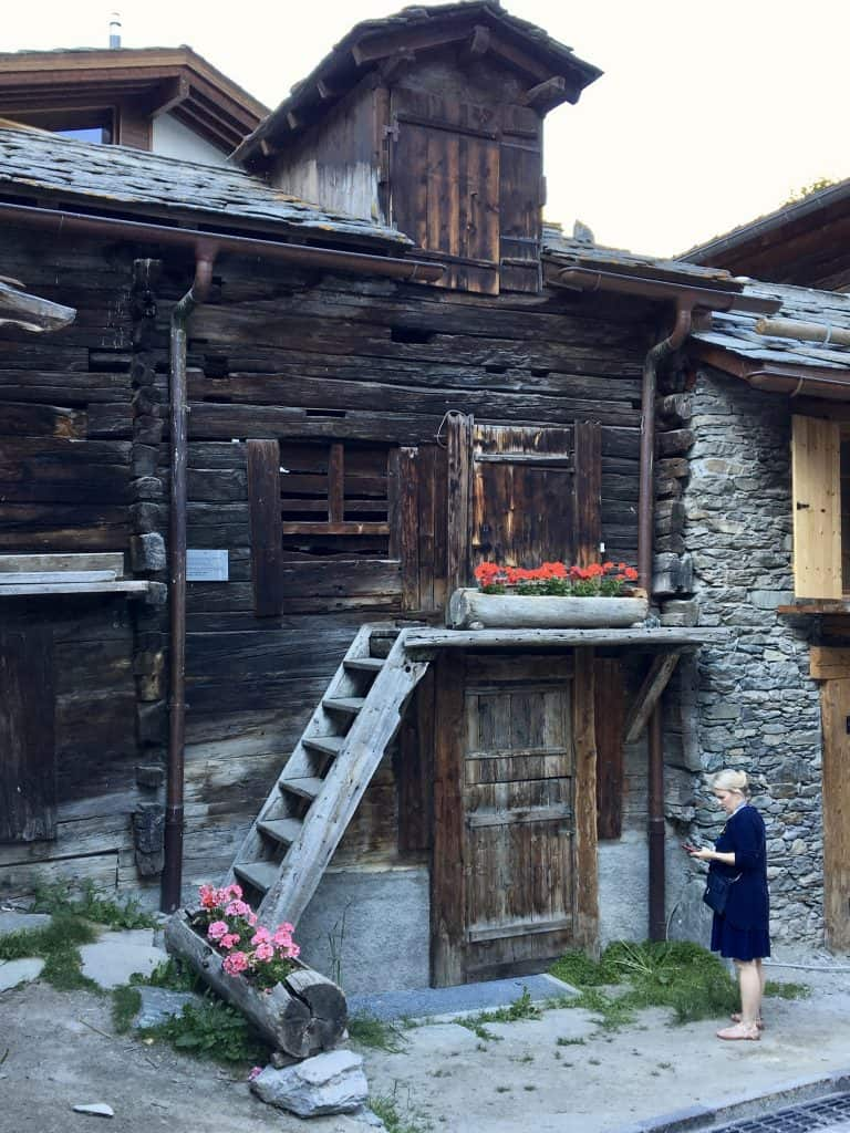 Old part of Zermatt
