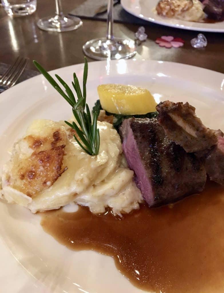 lamb dish zermatt