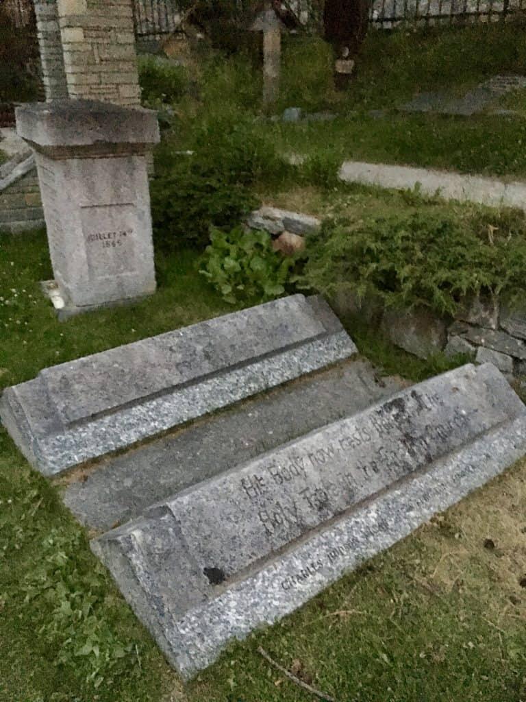 graveyard Zermatt