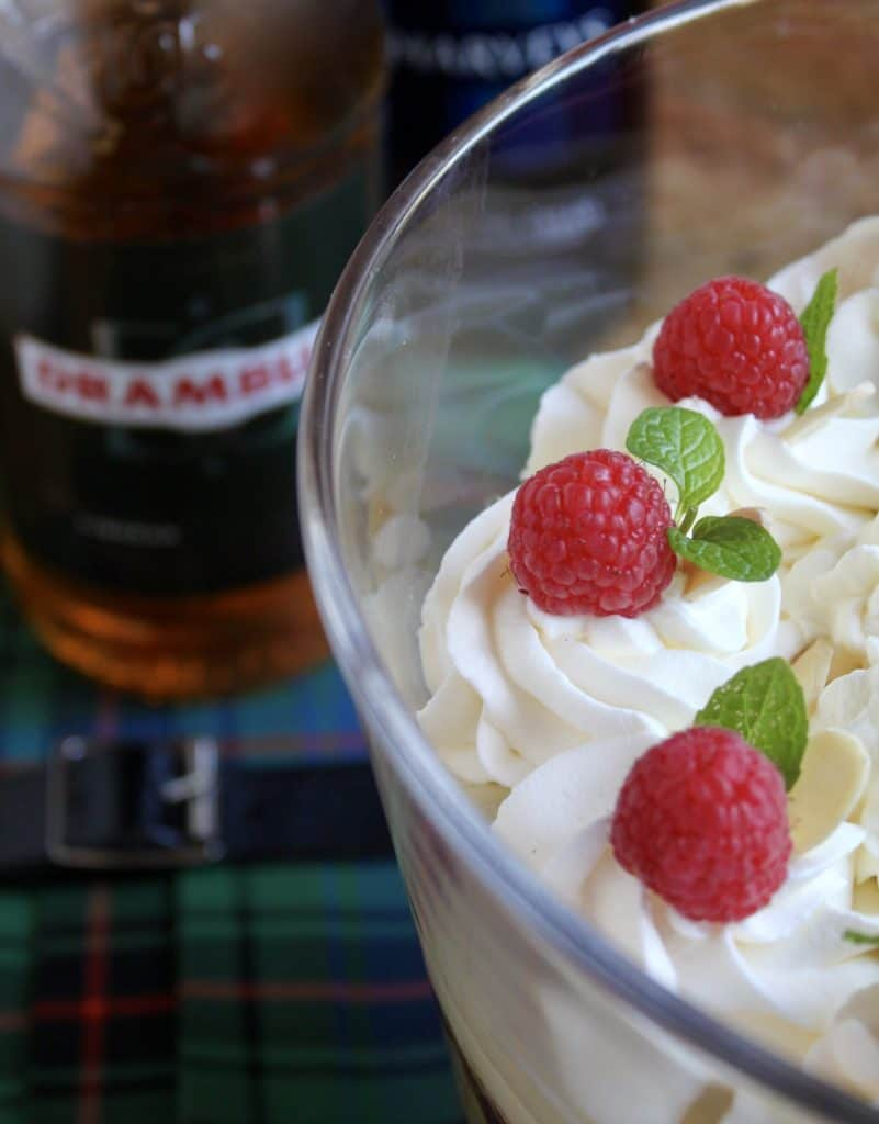 Typsy Laird Scottish Trifle