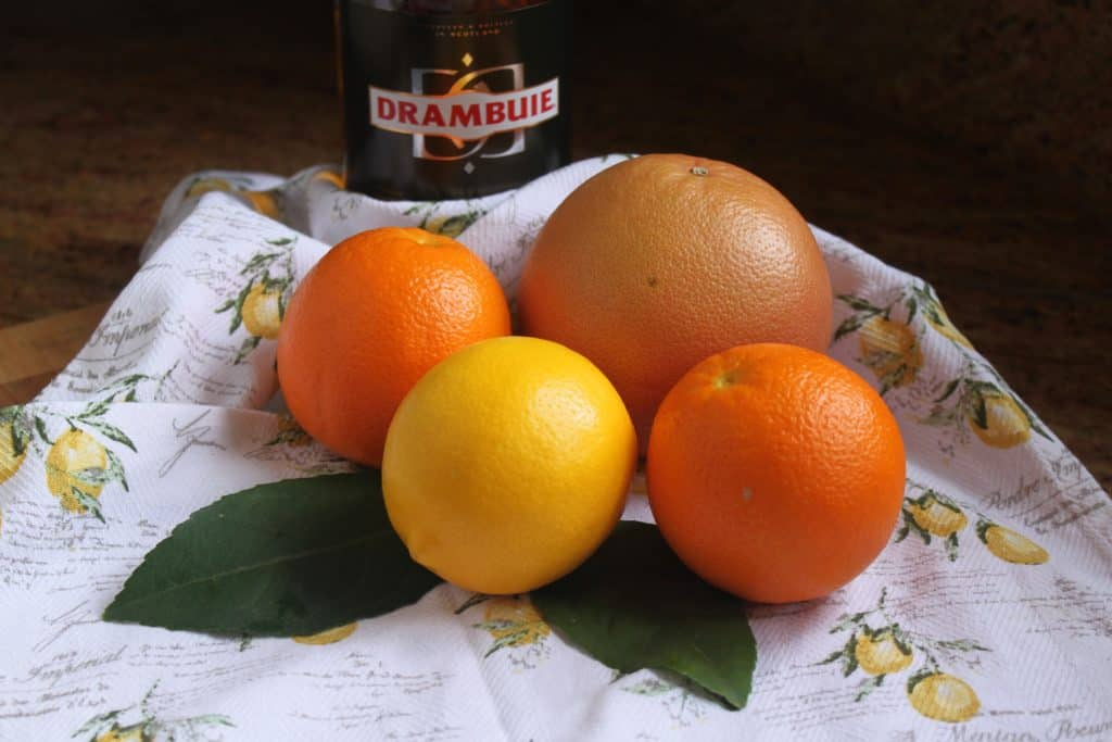 Citrus for Drambuie Marmalade
