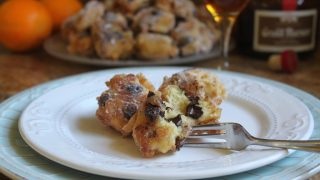Italian Ricotta, Raisin and Chocolate Doughnuts (Frittelle Ricotta, Uvetta e Cioccolato)