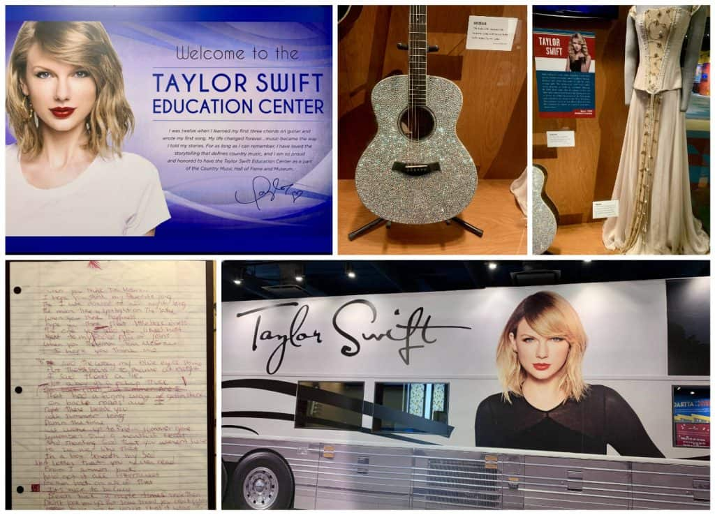 Taylor Swift at the Country Music Hall of Fame