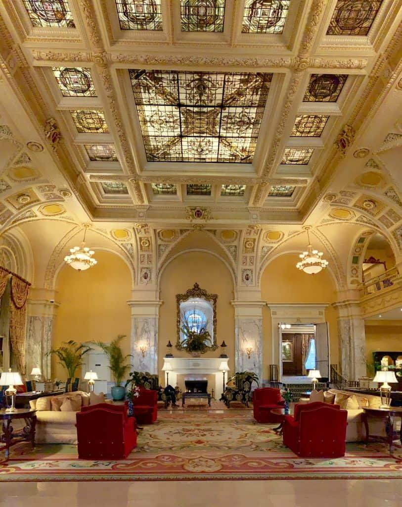 Hermitage Hotel lobby, Nashville, Tennessee