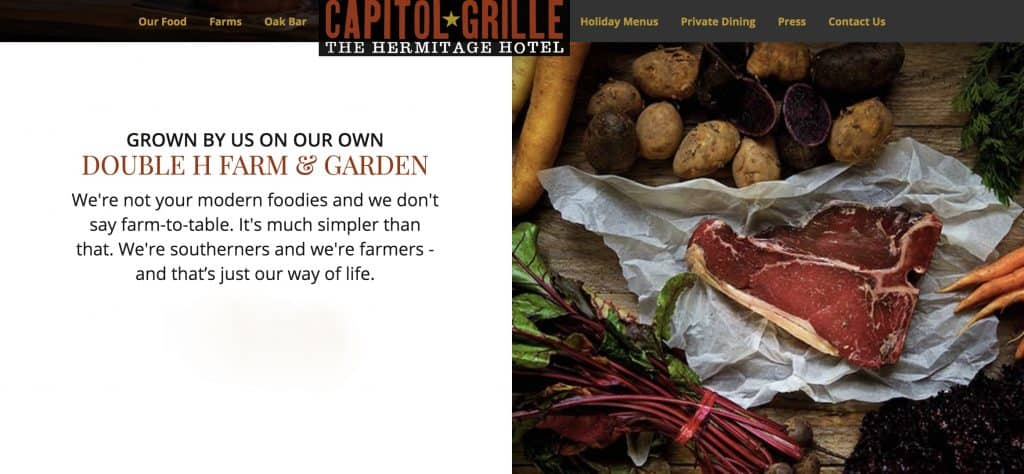 Capitol Grill HH Farm and Garden