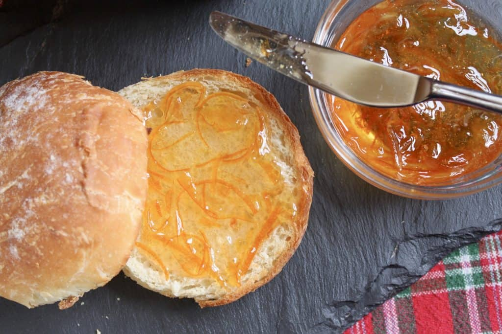 Drambuie Marmalade on a roll