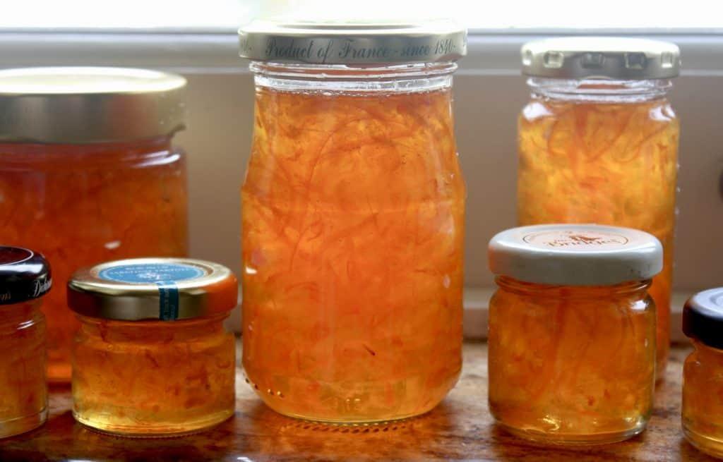 Jars of Drambuie Marmalade